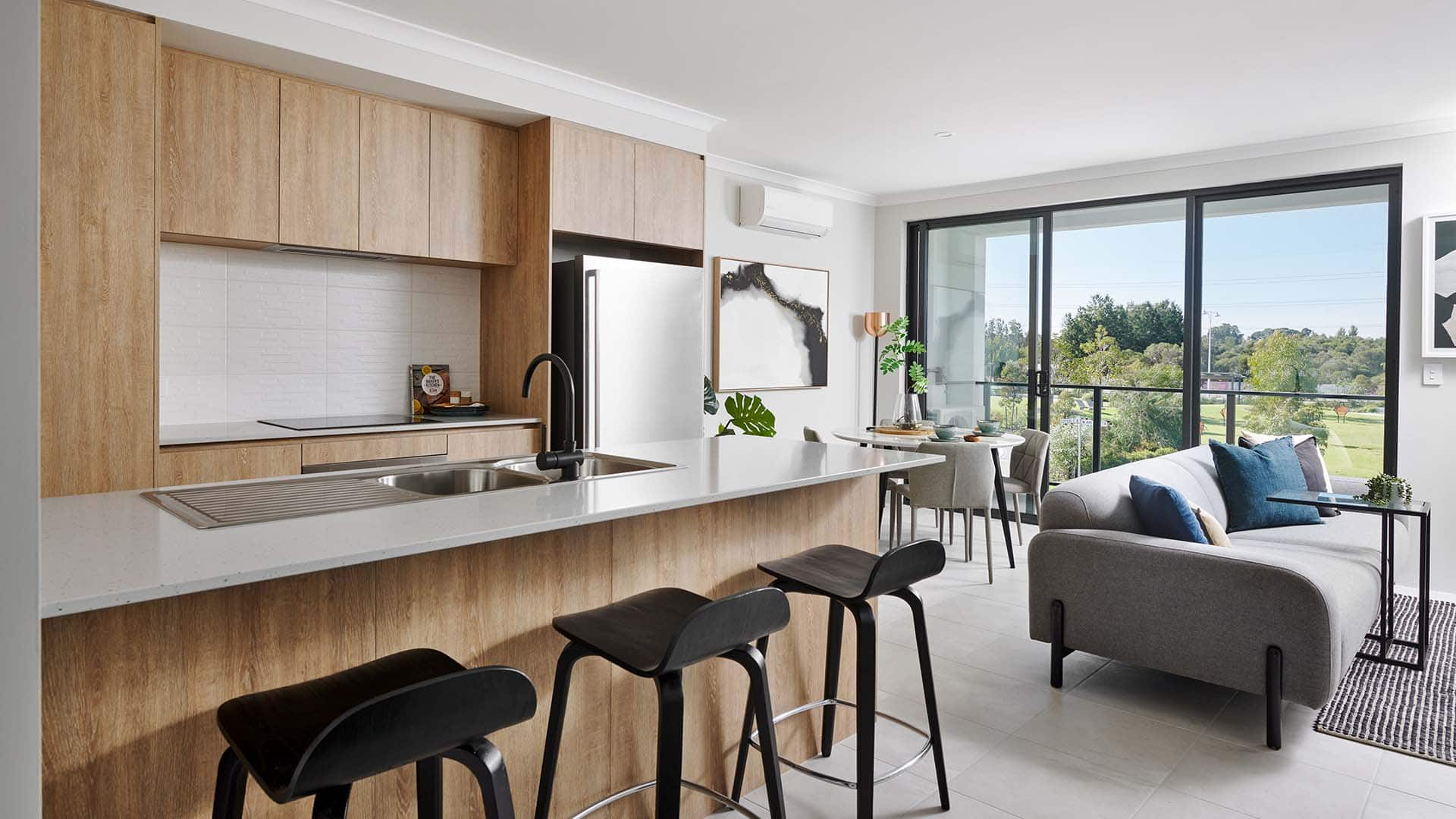 TERRACE display home kitchen in Treeby